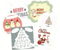 Picture of Gift Sticker Assorted Xmas 2